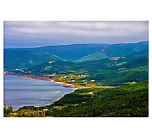 Overlooking Pleasant Cove, Nova Scotia - www.jbjon.com Photographic Print