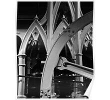 Gothic Steam Engine Poster