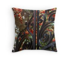 Charleston Gate & Flora Throw Pillow