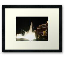 HIGH FLYING WATER Framed Print