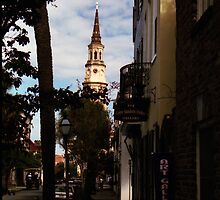 Church Street View, Charleston, SC by Benjamin Padgett