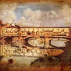 Ponte Vecchio 1865 by Alf Caruana