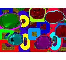 Shiny Geometrics Photographic Print