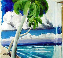Bahama Beach Mural by mark rehburg