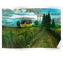 The Yellow Farmhouse - www.jbjon.com Poster