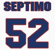 National baseball player Leyson Septimo jersey 52 by imsport