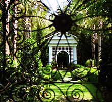 South Battery Gated Garden by Benjamin Padgett