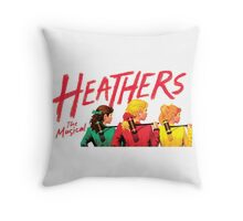 Heathers: The Musical Throw Pillow