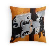 Queen Street Latch #3 Throw Pillow