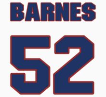 National baseball player Brian Barnes jersey 52 by imsport