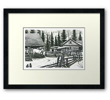 Horse Farm - www.jbjon.com Framed Print