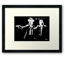 Wallace&Gromit Framed Print