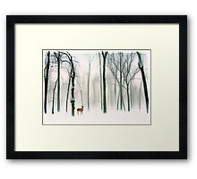 Forest Friend Framed Print