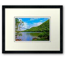 Lake O'Law Provincial Park - www.jbjon.com Framed Print