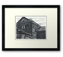 Abandoned Creepy House - www.jbjon.com Framed Print