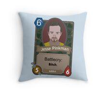 Breaking Bad Hearthstone Jesse alt Throw Pillow