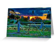 """At The Farm Gate"" Greeting Card"