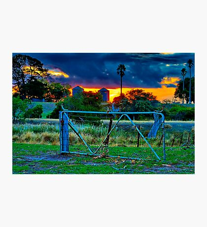 """At The Farm Gate"" Photographic Print"