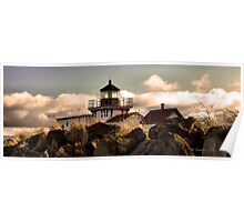 Point No Point Lighthouse. Poster