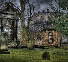 Greyfriars Cemetery HDR by Mark Andrew Turner