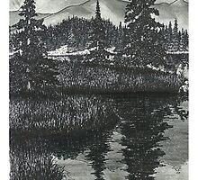 Wilderness Reflections - www.jbjon.com by Jonathan Baldock