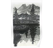 Wilderness Reflections - www.jbjon.com Poster