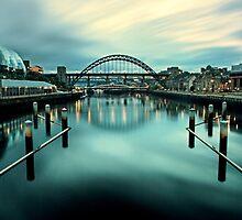 The Tyne Bridge, Newcastle Upon Tyne by Paul Alsop