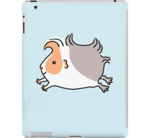 Leaping Guinea-pig - Apricot and Grey iPad Case/Skin