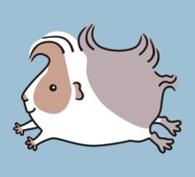 Leaping Guinea-pig - Apricot and Grey Kids Clothes
