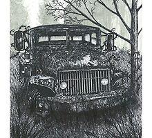 Abandoned Old Truck - www.jbjon.com by Jonathan Baldock