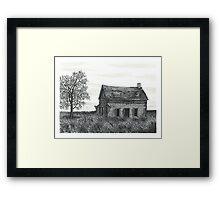 Abandoned Ontario Farmhouse - www.jbjon.com Framed Print