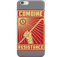 Combine Resistance iPhone Case/Skin