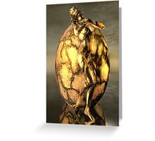 The Golden Birth Greeting Card