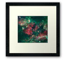 Stars Brewing in Cygnu X Framed Print