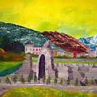 Aosta. Landscape with Ruins. by Alexey Yarygin
