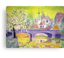 April. Strasbourg. Canvas Print