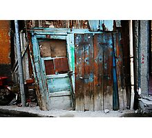 Falling Door Photographic Print