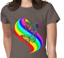 Butterfly Breakout Womens Fitted T-Shirt