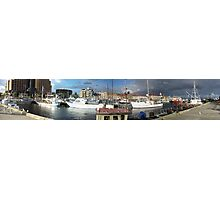 Hobart Fishing Boats Photographic Print