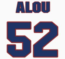 National baseball player Moises Alou jersey 52 by imsport