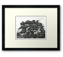 Old Tree - www.jbjon.com Framed Print