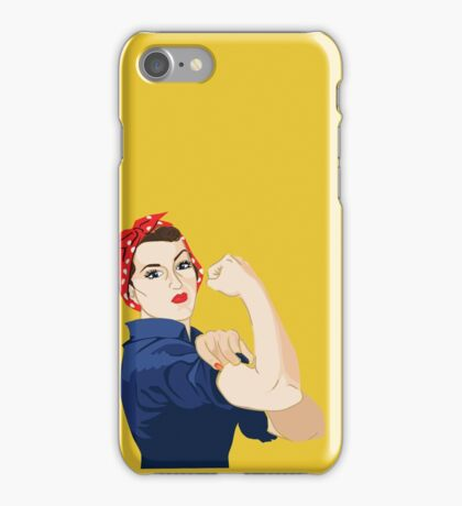 Rosie Riveter iPhone Case/Skin
