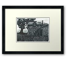 Ruined by Fire - www.jbjon.com Framed Print