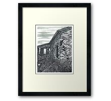 Abandoned Farmhouse - www.jbjon.com Framed Print