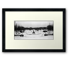 Bethesda Fountain in Central Park Framed Print
