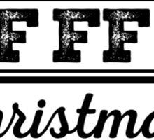 I'm dreaming of a white christmas Sticker