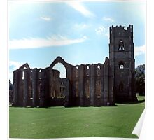 Fountains Abbey, Midsummer Poster