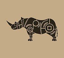rhinoceros by Hinterlund