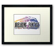 Crystal Meth Chronicles Framed Print