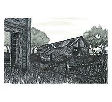 Abandoned Farm - www.jbjon.com Photographic Print